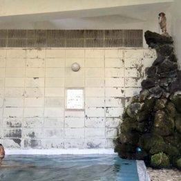 「華報寺共同浴場」新潟県阿賀野市 足元から湧き出す源泉
