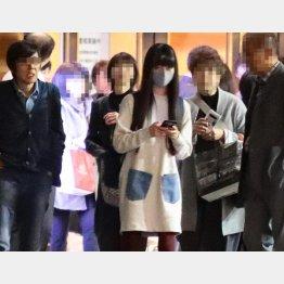 2019年、東京大会の会場を後にするCocomi(C)日刊ゲンダイ
