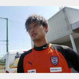 21歳の立田はエスパルスの下部組織育ち(写真)元川悦子