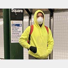 風邪をひいてもマスクをする習慣はなかったが(提供写真)
