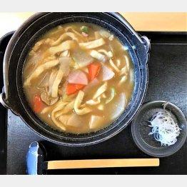 群馬の郷土料理「おきりこみ鍋」は幅広の麺が食べごたえあり(C)日刊ゲンダイ
