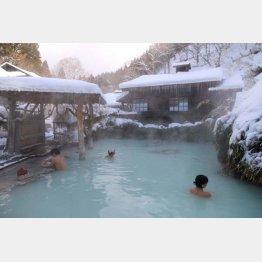 鶴の湯は混浴(C)日刊ゲンダイ
