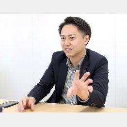デジタルグリッドの豊田祐介社長(C)日刊ゲンダイ