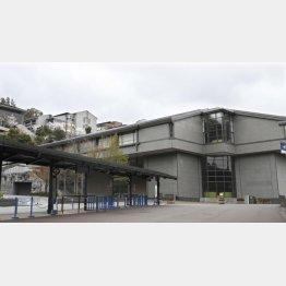 卒業生の感染が判明した京都産業大学(C)共同通信社