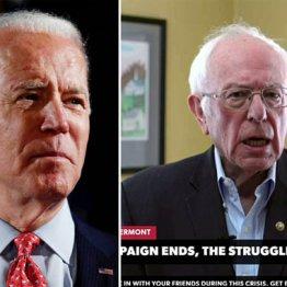 米大統領選サンダース撤退 本選はコロナの影響で大接戦に