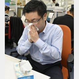 すぐにやったほうがいいのは洗顔、鼻をかむ、うがい(C)日刊ゲンダイ