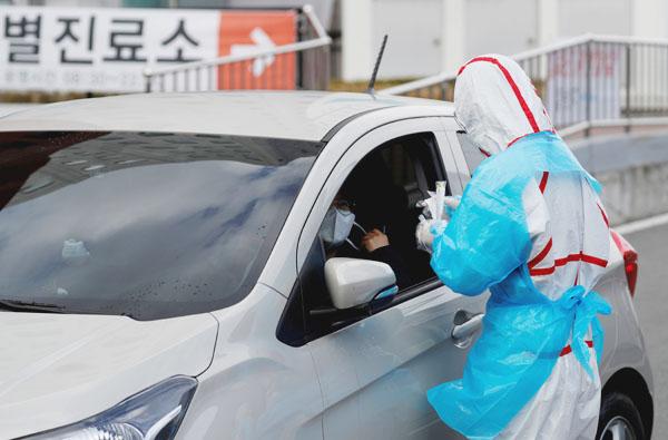 新潟 ドライブ スルー 検査