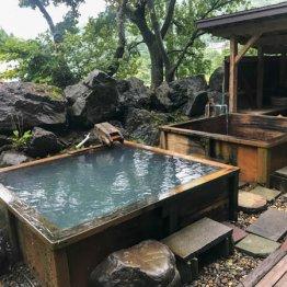 長野県小谷村「湯原温泉 猫鼻の湯」古びているが湯は本物