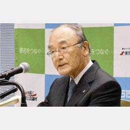 3月には日本商工会議所の三村明夫会頭が「中小倒産防止へ支援拡充を」と訴えていたが…(C)共同通信社