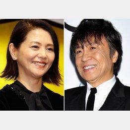 小泉今日子と世良公則(C)日刊ゲンダイ