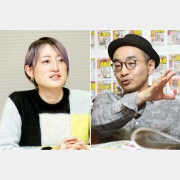 能町みね子さんとプチ鹿島さん(C)日刊ゲンダイ