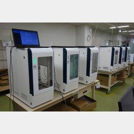 PSSは遺伝子検査装置を新型コロナウイルス検出装置として拡販、欧州はすでに採用している(C)共同通信社