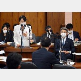 内閣委での大臣答弁もグダグダ(C)日刊ゲンダイ