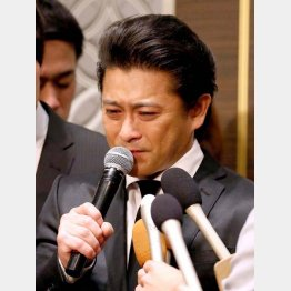 謝罪会見から2年…(C)日刊ゲンダイ