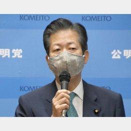 公明党の山口那津男代表が投稿したツイッターが炎上(C)日刊ゲンダイ