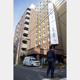 患者受け入れの「東横イン東京駅新大橋前」/(C)日刊ゲンダイ