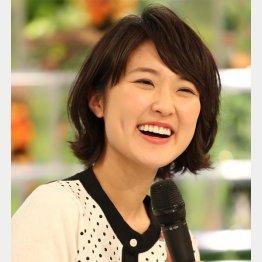 NHKの近江友里恵アナウンサー(C)日刊ゲンダイ