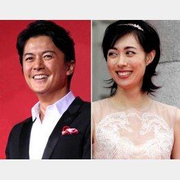 福山雅治と吹石一恵夫妻(C)日刊ゲンダイ