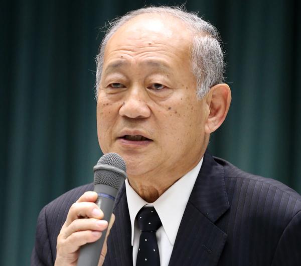 高野連の八田会長(C)日刊ゲンダイ