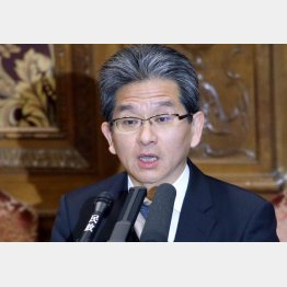 検事総長候補の辻裕教法務事務次官(C)日刊ゲンダイ