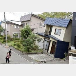 いよいよなのか…(写真は2018年9月の北海道地震)/(C)共同通信社