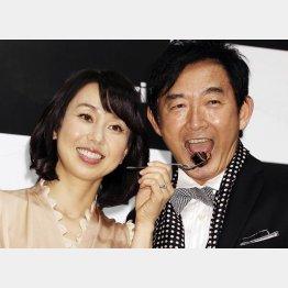 石田純一と東尾理子夫妻(C)日刊ゲンダイ