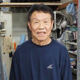 食事は「魚を中心に」と語る鈴木章夫選手
