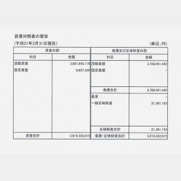 「サービスデザイン推進協議会(サ推協)」が慌てて出した第3期の決算公告(C)日刊ゲンダイ