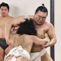 ぶつかり稽古は7月に入ってから(2018年の白鵬)/