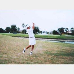 フロリダではゴルフ三昧(提供写真)