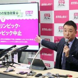 都知事選に山本太郎が立候補を表明した理由と野党の困惑