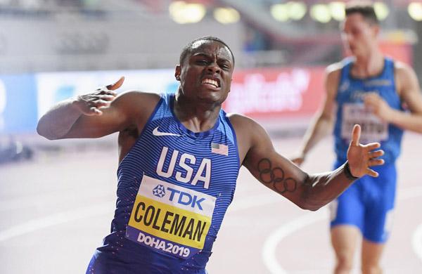 世界 陸上 男子 100 メートル 決勝