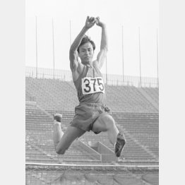 昭和39年の日本選手権に優勝し、昭和41年からは3連覇の山田宏臣(C)共同通信社