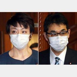 河井克行前法相と河井案里参院議員夫妻(C)日刊ゲンダイ