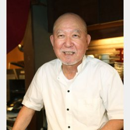 「さわ野」の澤野万作さん(C)日刊ゲンダイ