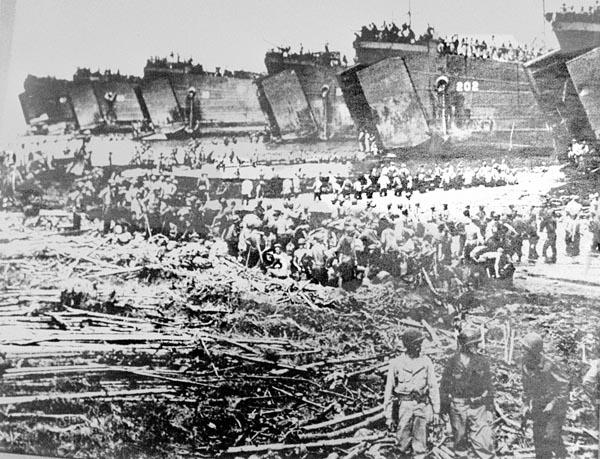 アメリカ軍の戦死、戦傷者は240人 日本軍は5000人に達した 日刊 ...