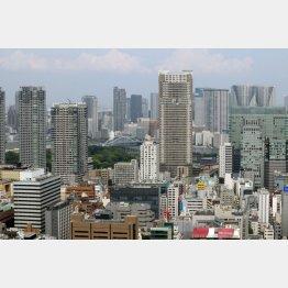 都内のタワーマンション(写真はイメージ)/(C)日刊ゲンダイ