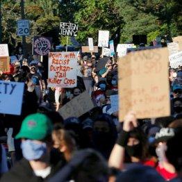 全米で続く抗議デモ