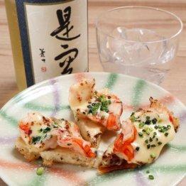 【エビのひと口豆腐ピザ】エビと溶けるチーズは最強タッグ