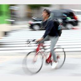 自転車のあおり運転も厳罰化(C)日刊ゲンダイ