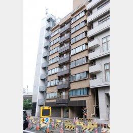 日本ミャンマー協会が入る建物(C)日刊ゲンダイ
