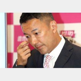 3位に沈んだれいわ新選組代表の山本太郎候補(C)日刊ゲンダイ