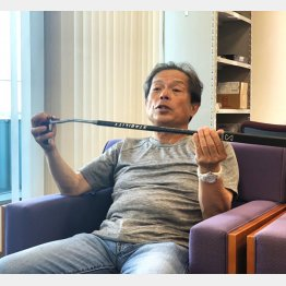 JPNゴルフの竹内潤一さん(提供写真)