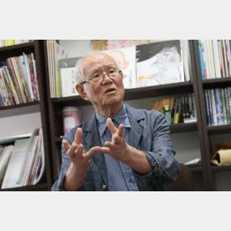 漫画家のちばてつや氏(C)日刊ゲンダイ