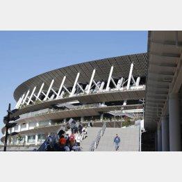 新国立競技場での陸上大会は待ち遠しいが…(C)日刊ゲンダイ