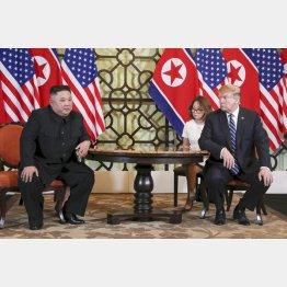 金正恩朝鮮労働党委員長はトランプ米大統領を怖がっていない(C)ロイター=共同