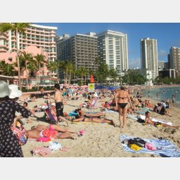 ハワイはまた混雑しそう…(C)日刊ゲンダイ