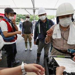 豪雨災害地へのボランティアの心得 マスクは過信できない