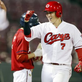 広島堂林は12球団唯一打率4割 遅咲きプリンス覚醒の秘密