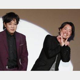「ぺこぱ」の松陰寺太勇(左)とシュウペイ(C)日刊ゲンダイ